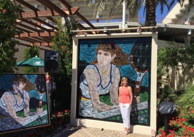 1 CHRIS EVERT 2015 | INDIAN WELLS | INDIA WELLS TENNIS GARDEN
