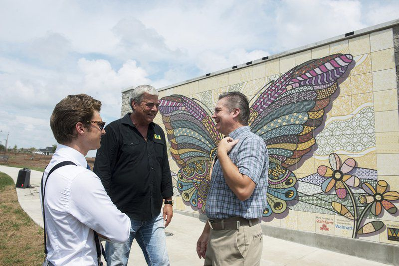 New Interactive Mural Celebrates the Pattern of Joplin's Recovery