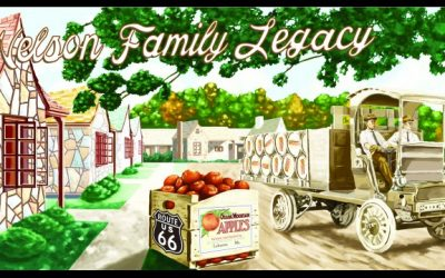 Remembering the Nelsons: Route 66 Society Approves Mural Design