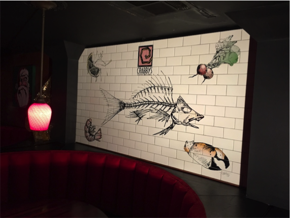New Project: Tile Mural for Crabby's in Joplin, Missouri
